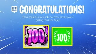 New LEVEL 100 Rewards! New Fortnite LEVEL 100 Special Rewards Update! (Fortnite Battle Royale)