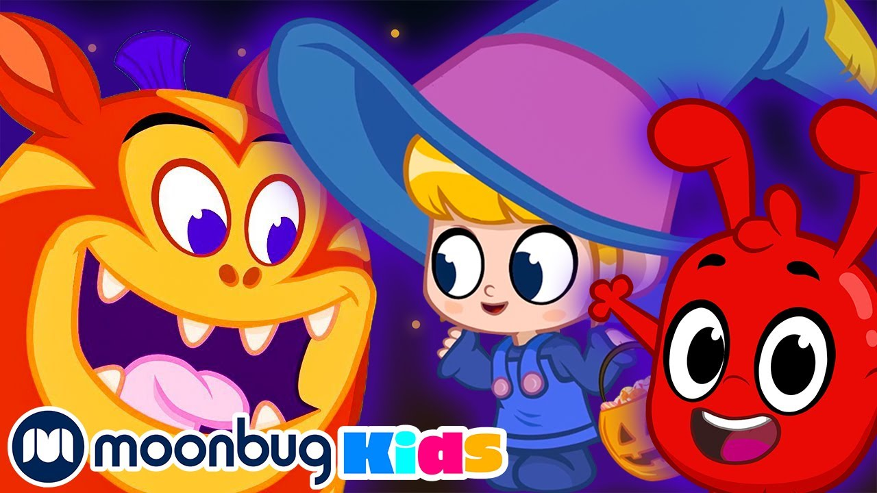 My Magic Pet Morphle - The Spooky Monster Camping trip   Morphle Full Episodes   Cartoons For Kids