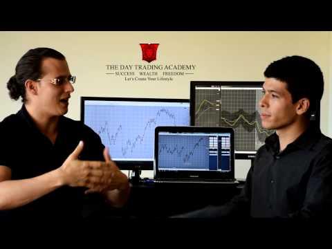 Entrevista Con Santiago, Quinto Trader Apunto De Empezar En Vivo