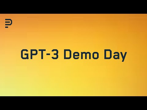 The First Open GPT-3 Demo Day