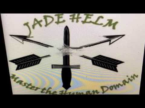 """Jade Helm"" Logo Wooden Shoe"