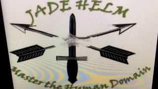"""""""Jade Helm"""" Logo Wooden Shoe"""