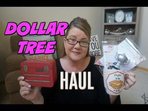 DOLLAR TREE HAUL 5/23/18 ~ My Biggest Haul Ever!