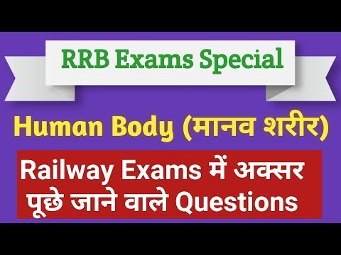 Science Questions for RRB Exams | Questions on Human Body | By - Science Platform