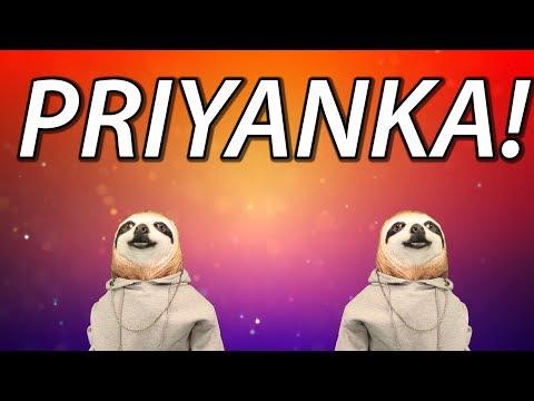HAPPY BIRTHDAY PRIYANKA! - SLOTH HAPPY BIRTHDAY RAP