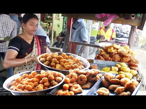 Most Hard Woking Lady Tiffins Selling | World Cheapest Tiffins @10 rs Only | Street Food India (A.P)