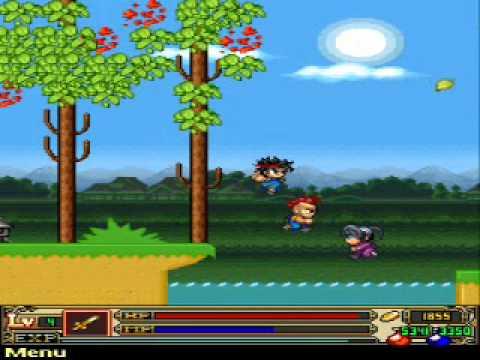 Ba đứa điên trong ninja school 2