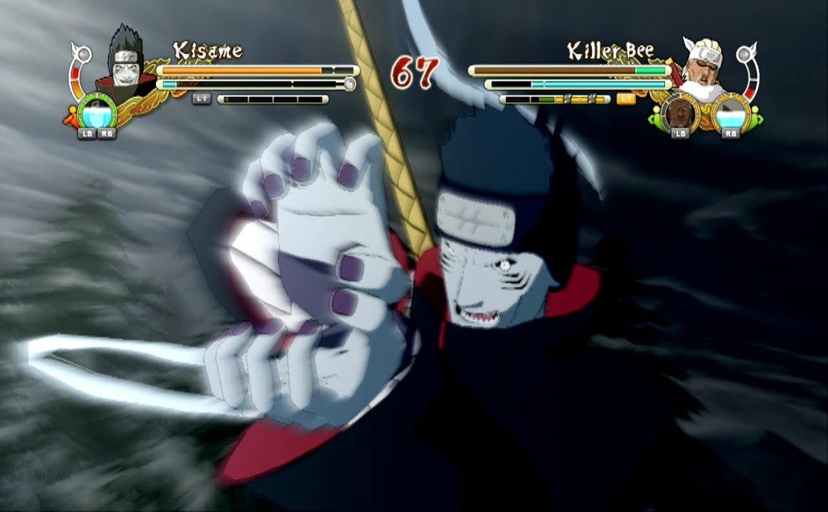 Naruto Ultimate Ninja Storm 3 Kisame Hoshigaki Complete Moveset With Command List Youtube