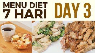 Inspirasi menu diet sehat yang bisa kamu ikuti selama seminggu, mulai dari Sarapan, Makan Siang dan Makan Malam. Day 3 ▷ Breakfast : Salad Buah Snack ...