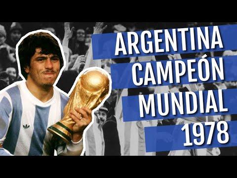 Argentina Campeón en el Mundial Argentina 1978 HD