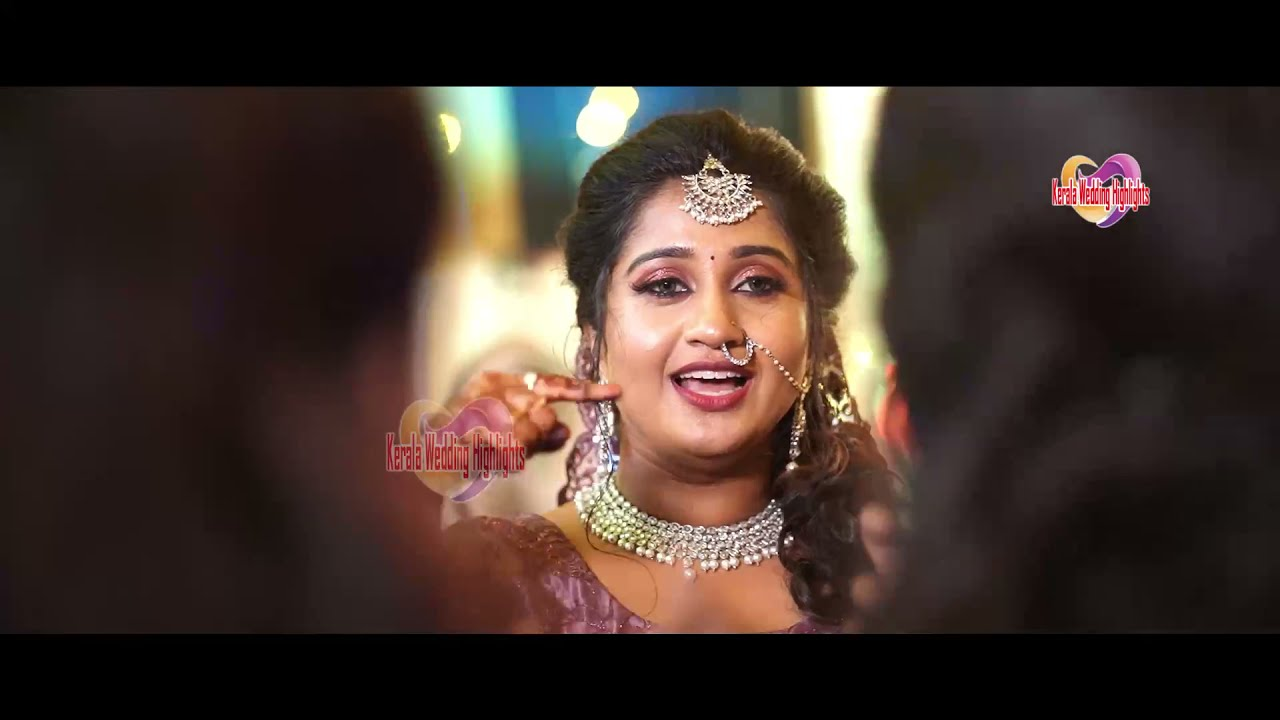 Actress Anaswara Ponnambath l Bride dancing moments at Wedding Mehndi & haldi function full video