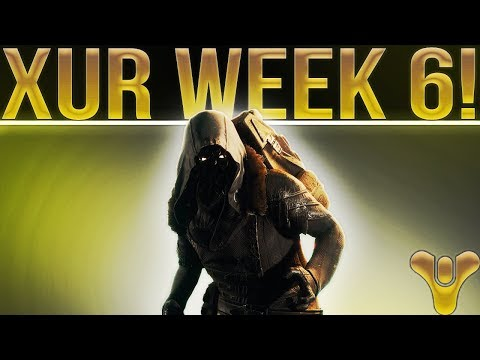 Destiny 2. XUR WEEK 6! Xur Location, Exotic Weapon/Armor Review & Inventory. REALLY GOOD WEEK!