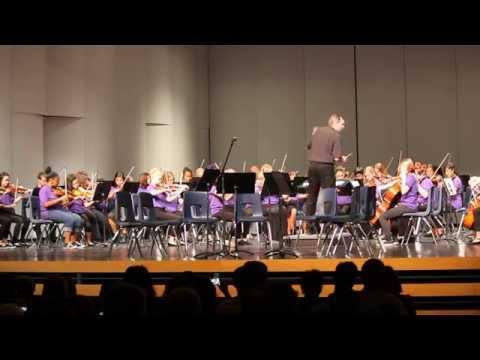 Desert Ridge Junior High School Spring Ensembles Concert 2015