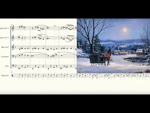 Sleigh Ride for Brass Quintet Sheet Music