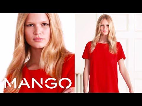 Anna Ewers - MANGO March looks!