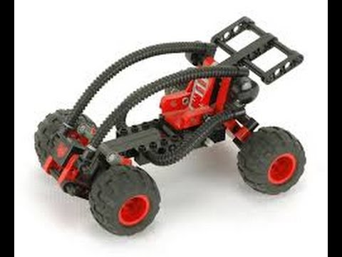 Lego Technic 8226 Mud Masher Instructions With Part List Year 1996