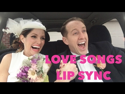 VALENTINE'S LIP SYNC | LOVE SONGS OF THE DECADES | Kristin and Danny