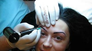 Tatuaj fara durere sprancene http://www.machiajtatuaj.ro