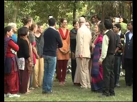 PRINCE CHARLES VISITS FOREST RESEARCH INSTITUTE