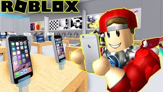 Roblox   Open the super cheap Iphone Ipad shop for Fan Vamy   Apple Store Tycoon   Vamy Tran