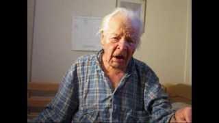Almost 105 year old male singer Vilho Kekkonen sings (Old German hymn in Finnish)