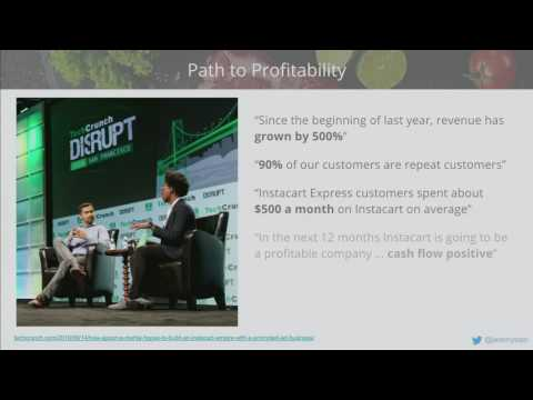 How Data Science Is Making On-Demand Grocery Delivery Profit