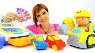 Про машинки и парковку. Видео для детей. Английский Магазин Капуки Кануки