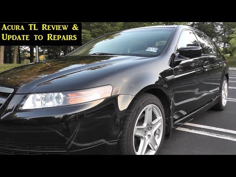 Acura TL Used Car Review and Repair Update