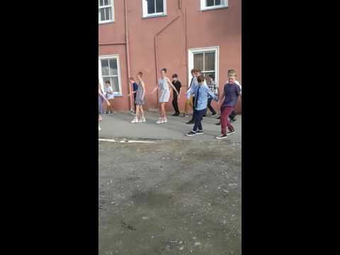 Redcliffs school year 8 group dance