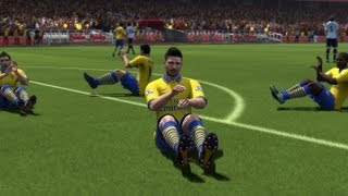 FIFA 14 All 15 Unlockable Celebrations Tutorial | HD 1080p