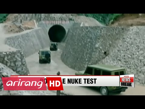 N. Korea covers unused tunnel at nuclear test site, hinting at possible test