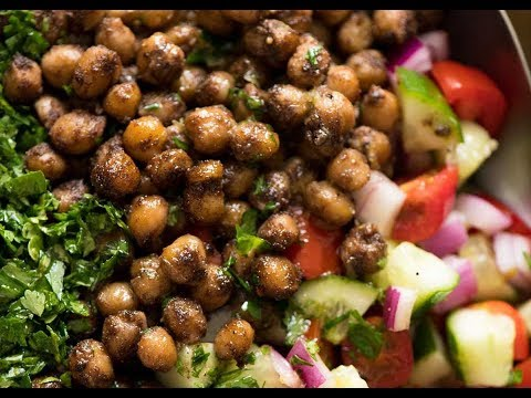 Spiced Chickpea Salad