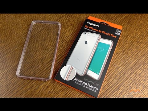 wholesale dealer 5128e f28d4 iPhone 6s Plus Neo Hybrid EX Spigen Case Review