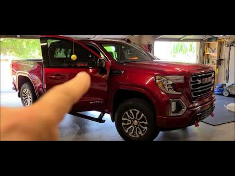 2021 GMC Sierra AT4 passenger side (right) mirror — DIY replacement