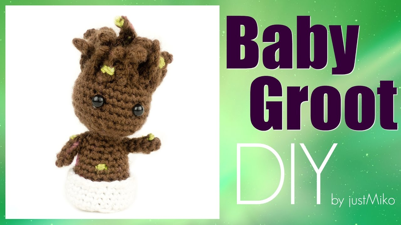 Baby Groot 🌱 häkeln *Do it Yourself* Amigurumi | Marvel | EngSub ...
