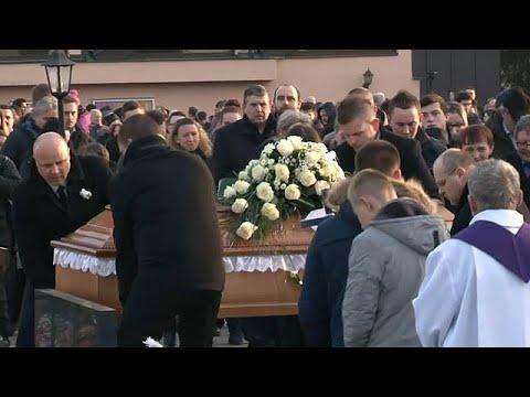 Slovakia mourns slain journalist
