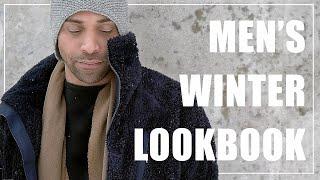 Winter Coats for Men - Mens Winter Outerwear Lookbook 2018