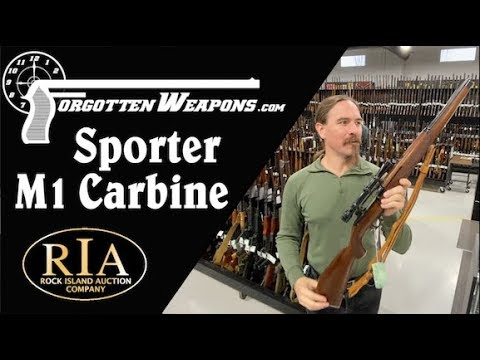 RIA Feb 2020 Special: Sporterized M1 Carbine