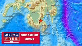 6.8 Earthquake Hits The Philippines - LIVE BREAKING NEWS COVERAGE