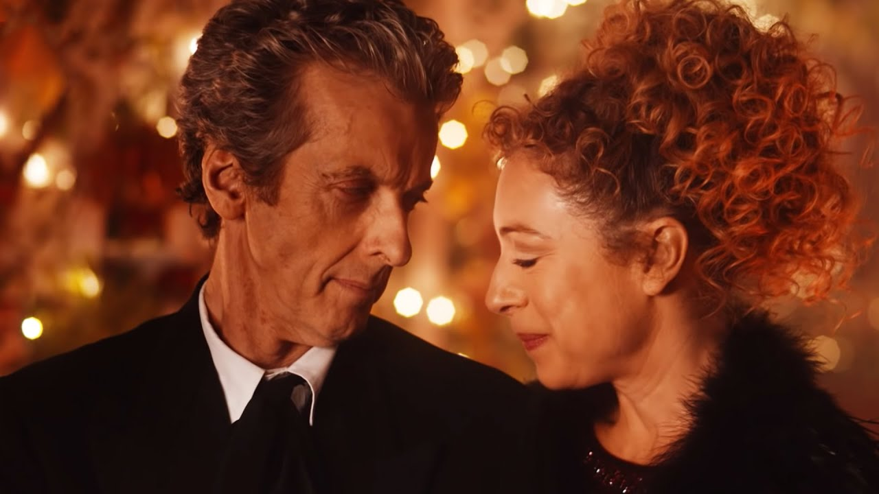 the last night on darillium doctor who the husbands of river song bbc youtube
