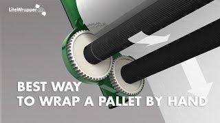 Der beste Weg, um wickeln einer Palette von hand - LiteWrapper CL