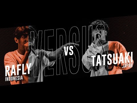 RAFLY (ID) vs TATSUAKI (JPN) |Asia Beatbox Championship 2018  SEMI FINAL SOLO BATTLE