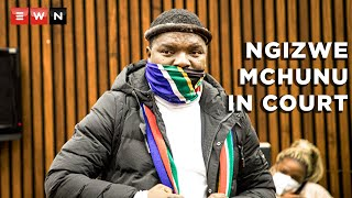 Former Ukhozi FM DJ Ngizwe Mchunu appeared in the Randburg magistrate's court on 28 July 2021 to apply for bail in his incitement case. It is alleged that Mchunu is one of the instigators of the violent looting and riots that took place in parts of Gauteng and KwaZulu-Natal. The case has been rolled over to 29 July 2021. .