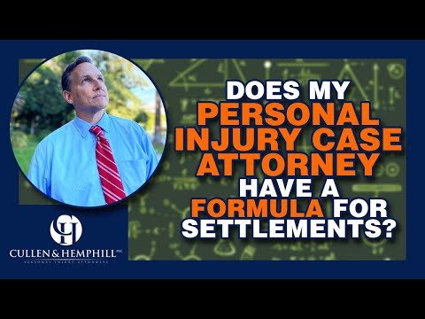 Is There A Formula For Settlements In Florida Personal Injury Cases?