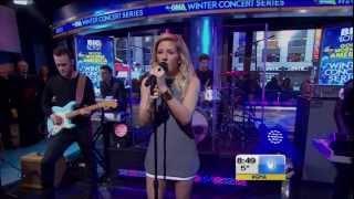 Ellie Goulding - Burn (Live on Good Morning America) + Interview