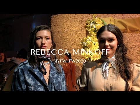 [New York City Peoples] NYFW FW20 | Rebecca Minkoff | 뉴욕패션위크 FW20 | 레베카밍코프 | #newyorkcitypeoples