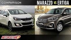 Maruti Ertiga Vs Mahindra Marazzo Vs Renault Lodgy Comparison