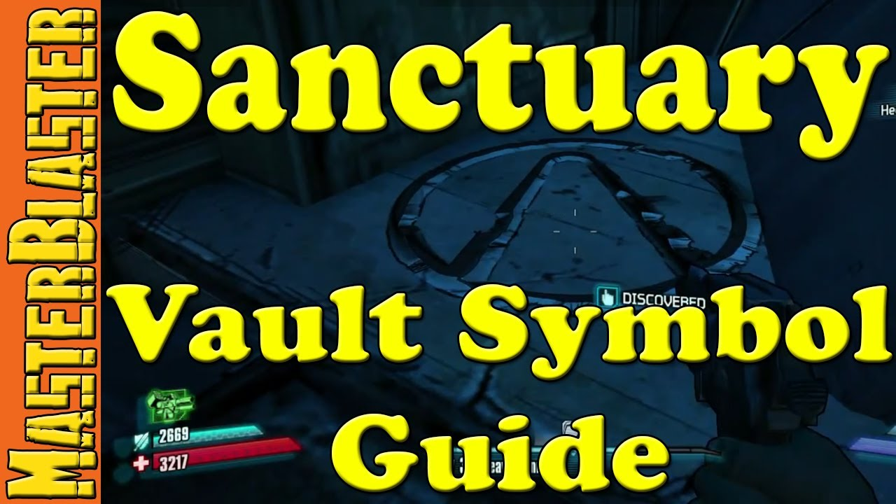 Borderlands 2 Sanctuary Cult Of The Vault Symbol Challenge Location