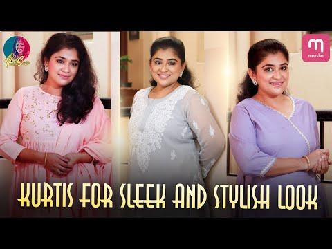 Kurtis for Sleek & Stylish Look | My Latest Shopping Vlog | Preethi Sanjiv