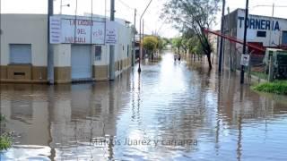 Inundacion Villa Nueva Córdoba Argentina